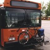 Winnipeg Transit bus & bike rack (Source: www.winnipegtransit.com)