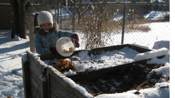 Compost all winter