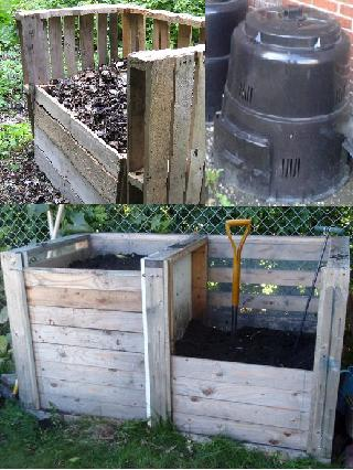 Compost bin options