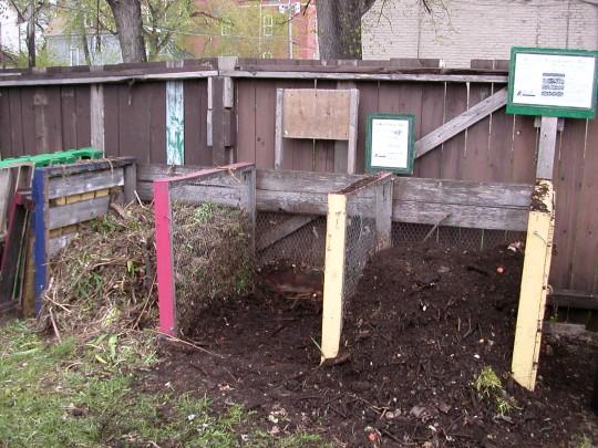 Multi-Bin Composting System