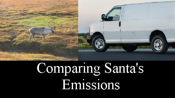 Santa's emissions