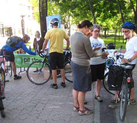 Bike to Work Day 2011 Overwhelming Success