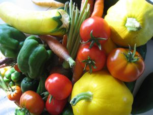 Fresh Garden Vegetables (Green Action Centre photo)