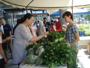 Manitoba Hydro Farmer's Market in Downtown Winnipeg (Green Action Centre photo)