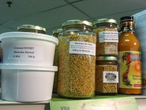 Some delicious local Manitoba food on offer at the Farmer's Market! (Green Action Centre photo)