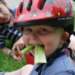 Enjoying a bike break (Photo: Green Action Centre by permission)