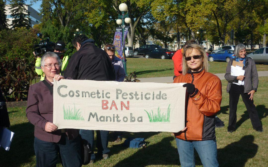 Lawn pesticide ban