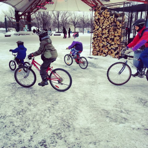 Family Winter Cycling Day a success