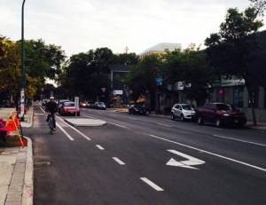 Sherbrook bike lane 2 web
