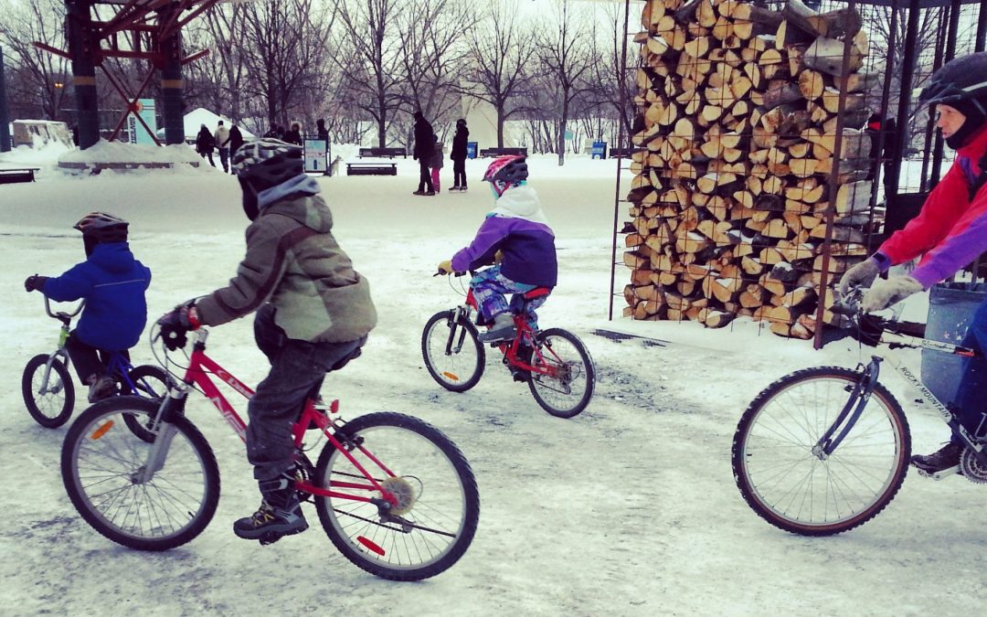 Riding your bike through the winter