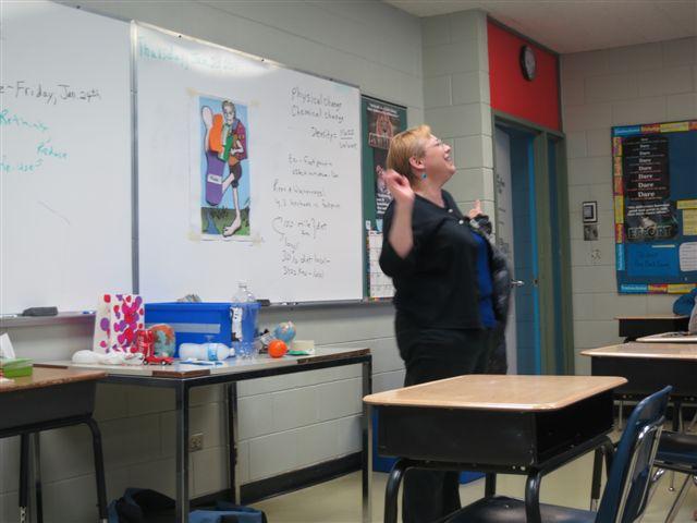 School presentations result in actionable change