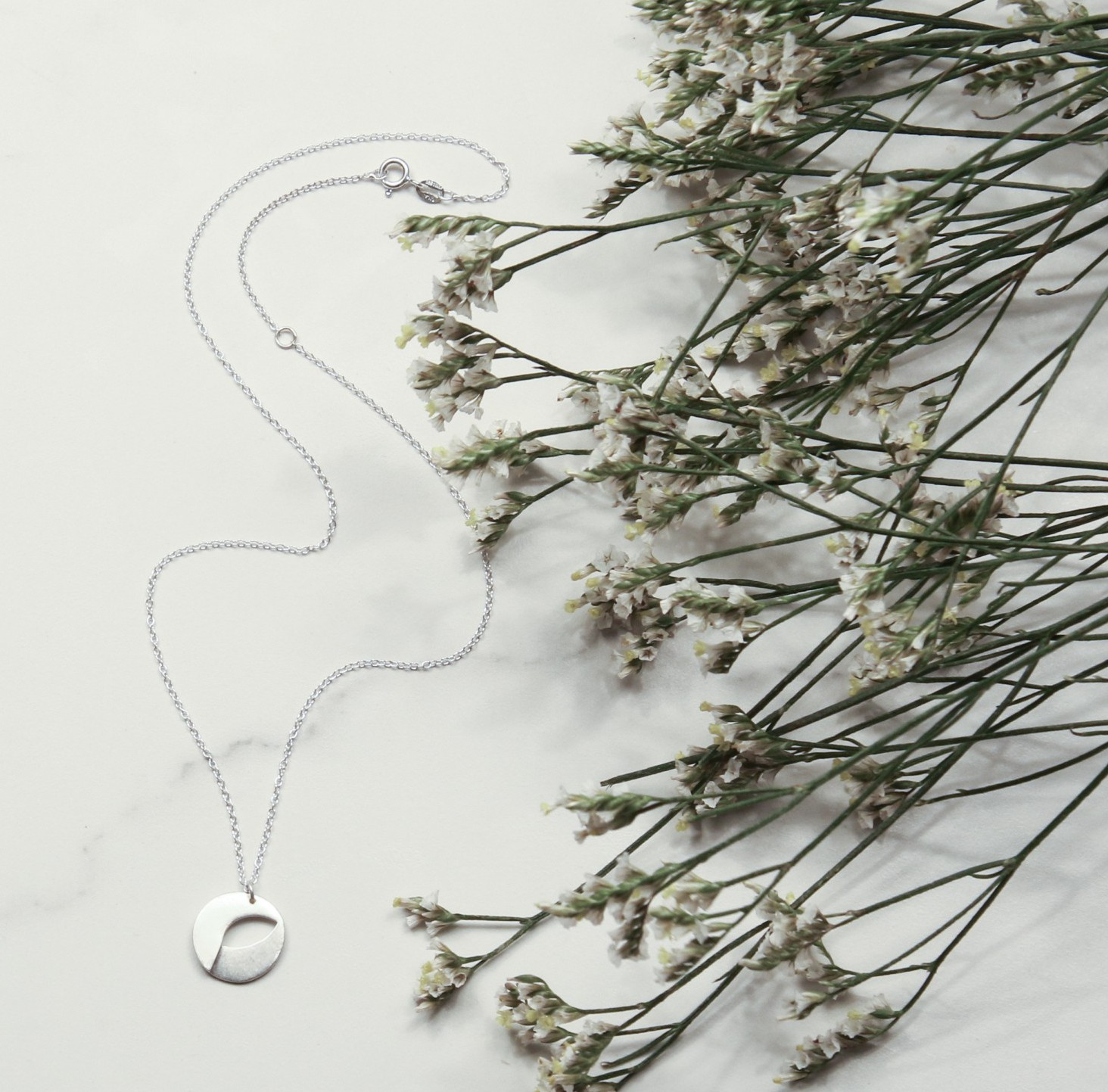 Living Green necklace now available!