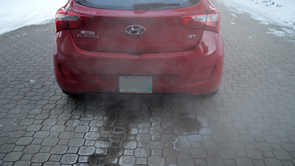 Idling not best way to warm up your car