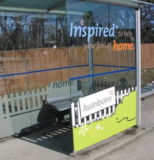 ACU bus shelter