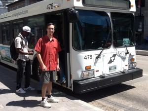 Adam bus (Green Action Centre)