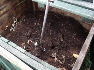 Aerating Compost