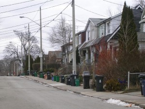 2009 Organics program in Toronto (provided by Bruce Berry)