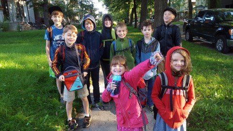 Building Community: A Walking School Bus Story