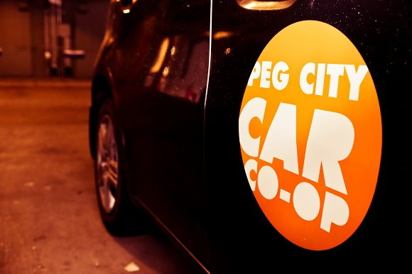 Peg City Car Coop, Logo