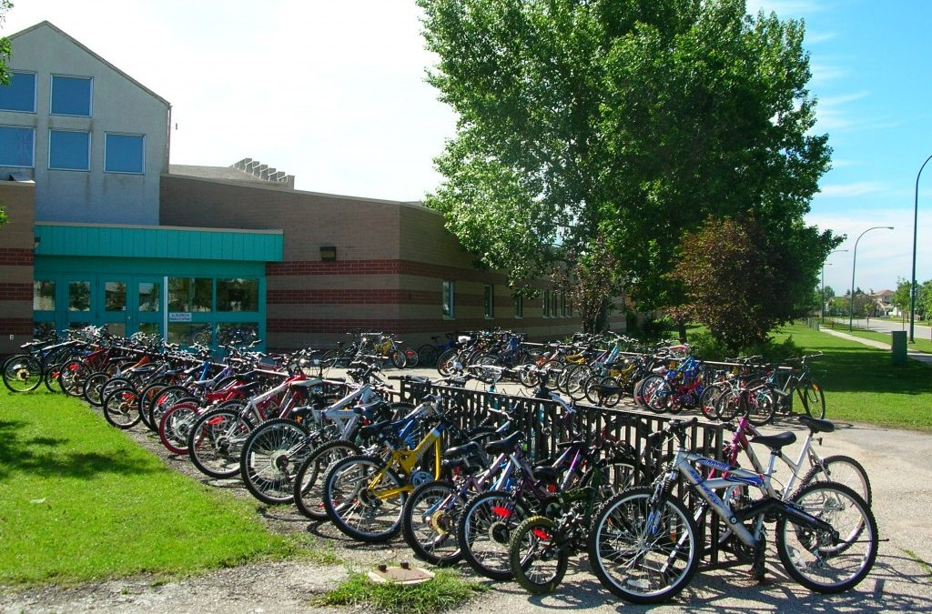 New! Winnipeg Schools Bike Rack Program