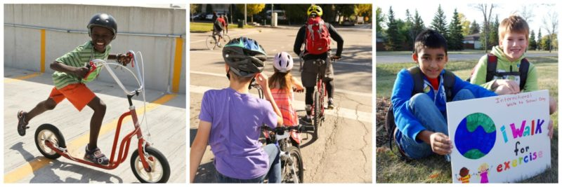 Encouraging Children to Bike, Walk and Roll