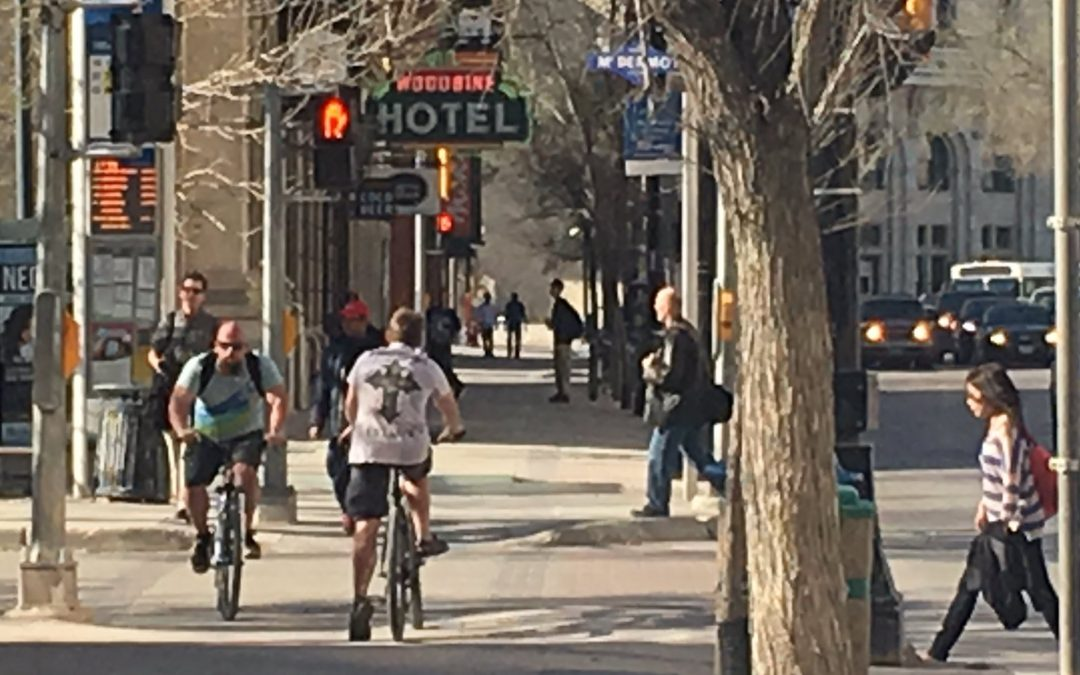 SIDEWALK CYCLING: An option for people on bikes?
