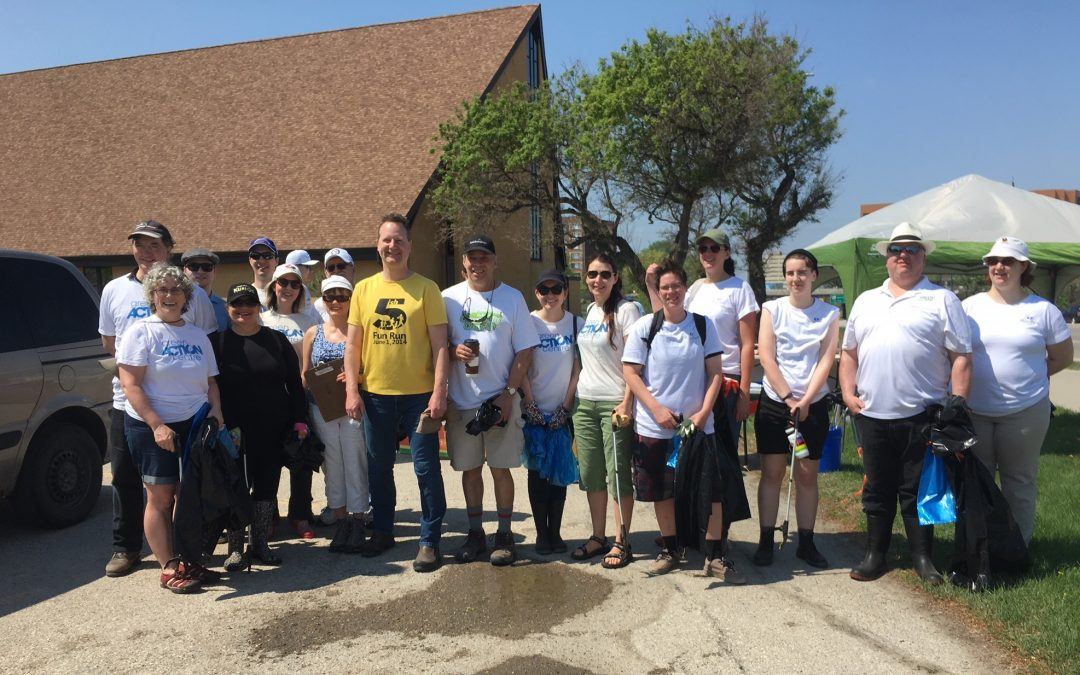 Omand's Creek Cleanup 2020