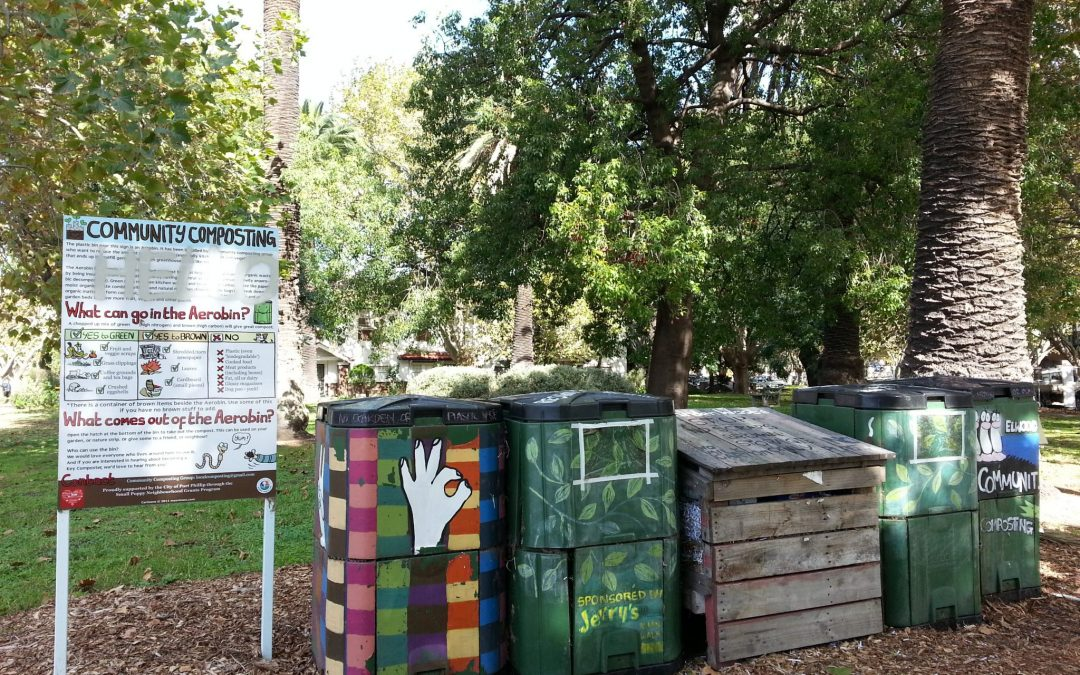 Community compost sites