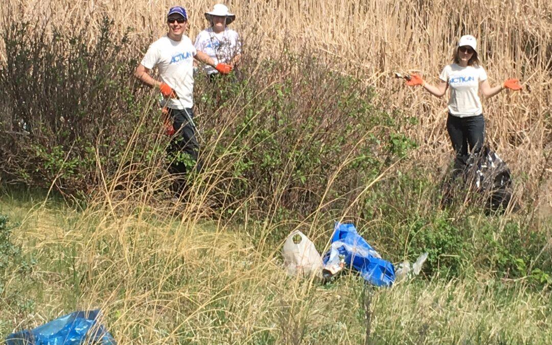 Omand's Creek Cleanup 2021