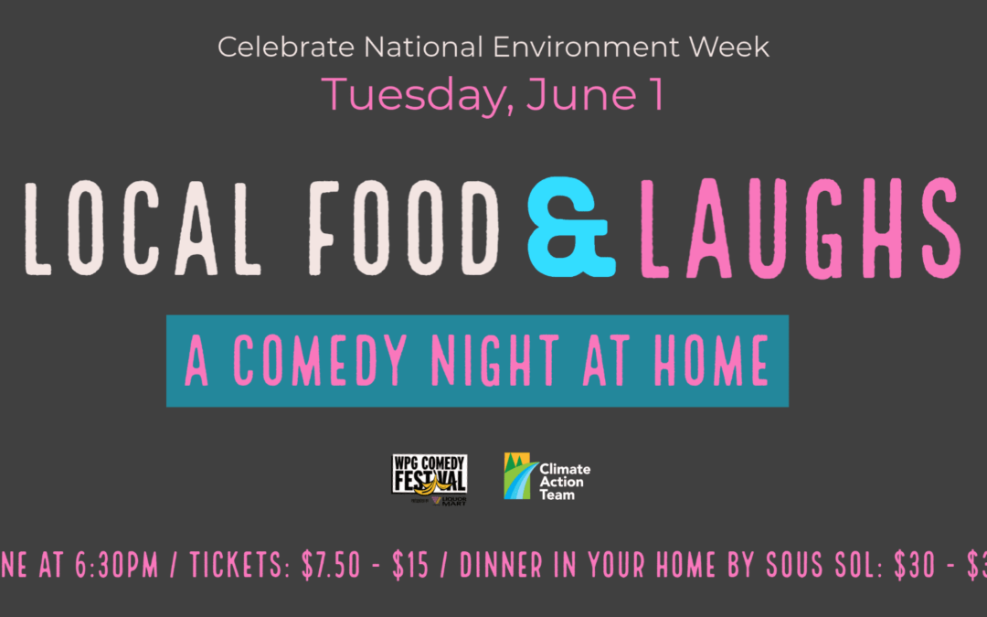 Local Food & Laughs: A Comedy Night at Home
