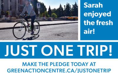Take the Just One Trip Pledge!